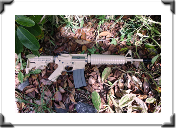 ST4 Improved Rifle in Saber Sand